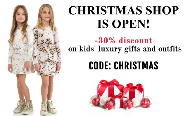 SAVE 30% ON LUXURY CHILDREN'S GIFTS AND CLOTHING