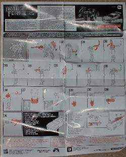 Transformer instructions.