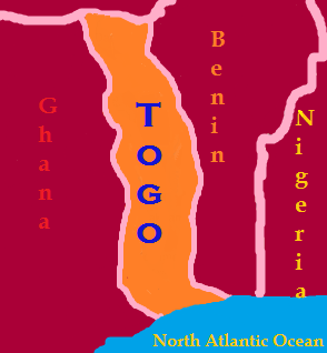 Togo's landscape is diverse, with five environmental zones: mountains, Savannah, rainforest and coastal areas.
