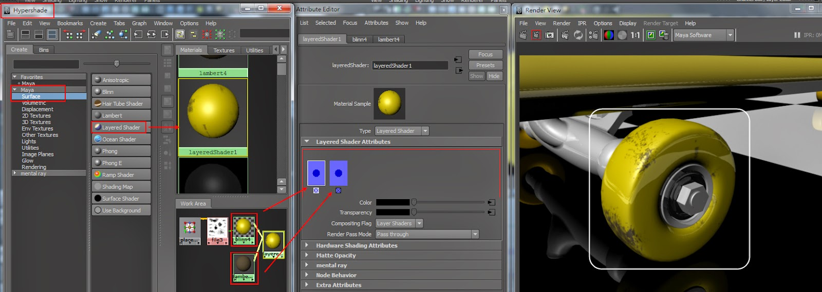 Basic Material Types in Maya 06