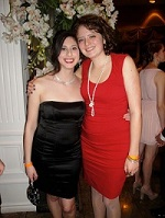 Author and other blog contributor Danielle dressed up for the Engineering formal, the Fireball