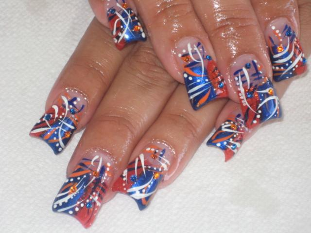 If you take a look at the pictures of cool nail designs in this article,