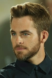 Actor Chris Pine With new look