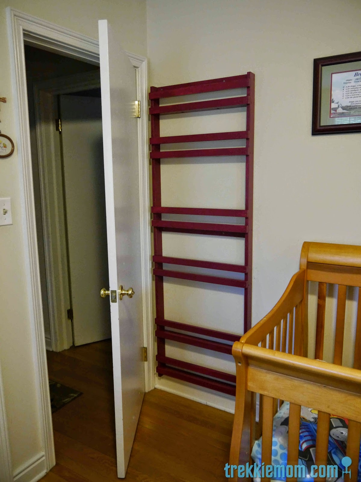 Trekkie Mom Flat Book Shelf How To