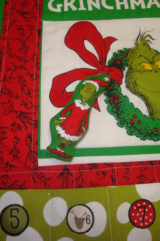 The Quilt Barn Grinch Advent Calendar