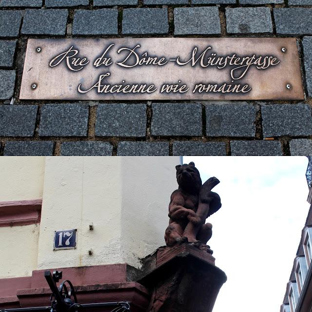 curiosité rues de Strasbourg