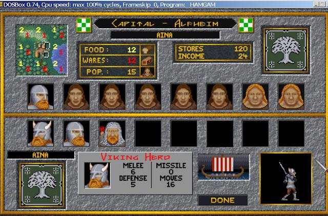 Hammer of the Gods - City Screen Description