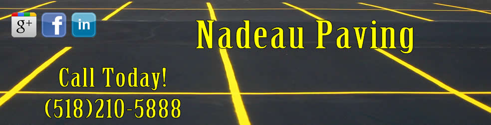 Nadeau Paving - Asphalt Maintenance, Sealcoating, Snow Plowing, Excavating & Retaining Walls