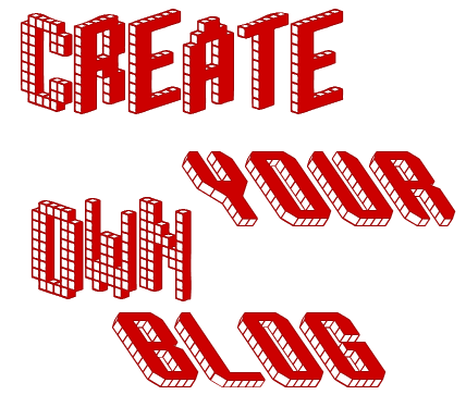 Create your own blog for free