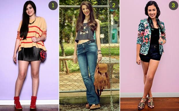 Saias, vestidos e outras roupas para valorizar seu corpo; Como usar um determinado tipo de saia, qual é o modelo short ideal, como escolher o vestido da temporada