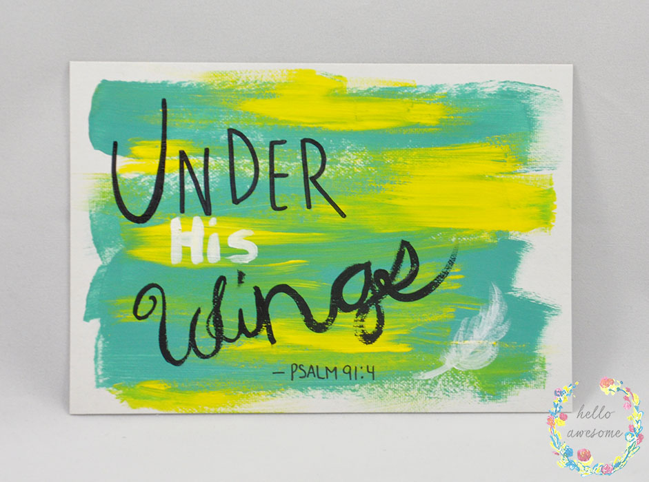 http://www.helloawesomeshop.com/collections/403230-artwork/products/7278822-under-his-wings-yellow-teal-5x7-painting