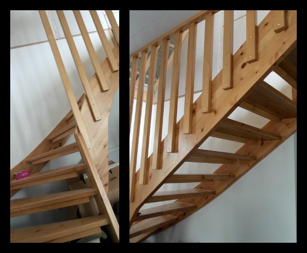 Vitt eller svart: Projekt trappa!