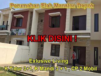 Rumah Murah Elah Mansion Depok