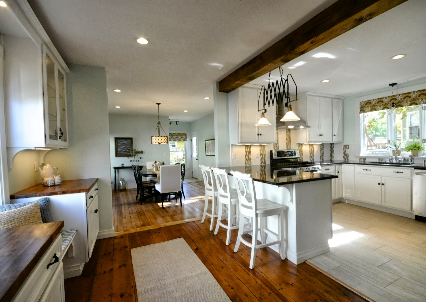 Sopo cottage open house sunday october 20th for Open kitchen dining room ideas