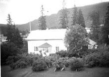 Fossestua tidlig på 1960-tallet. Det eldste bildet vi har fått tak i av huset.