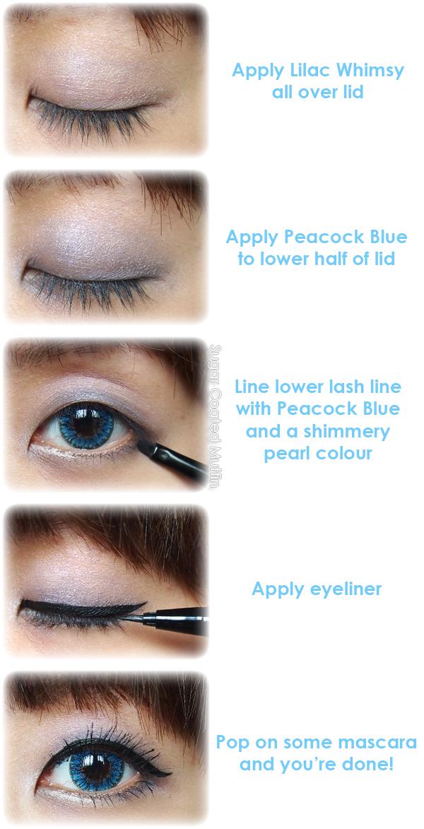 Makeup tutorial with Estee Lauder Pure Color EyeShadow