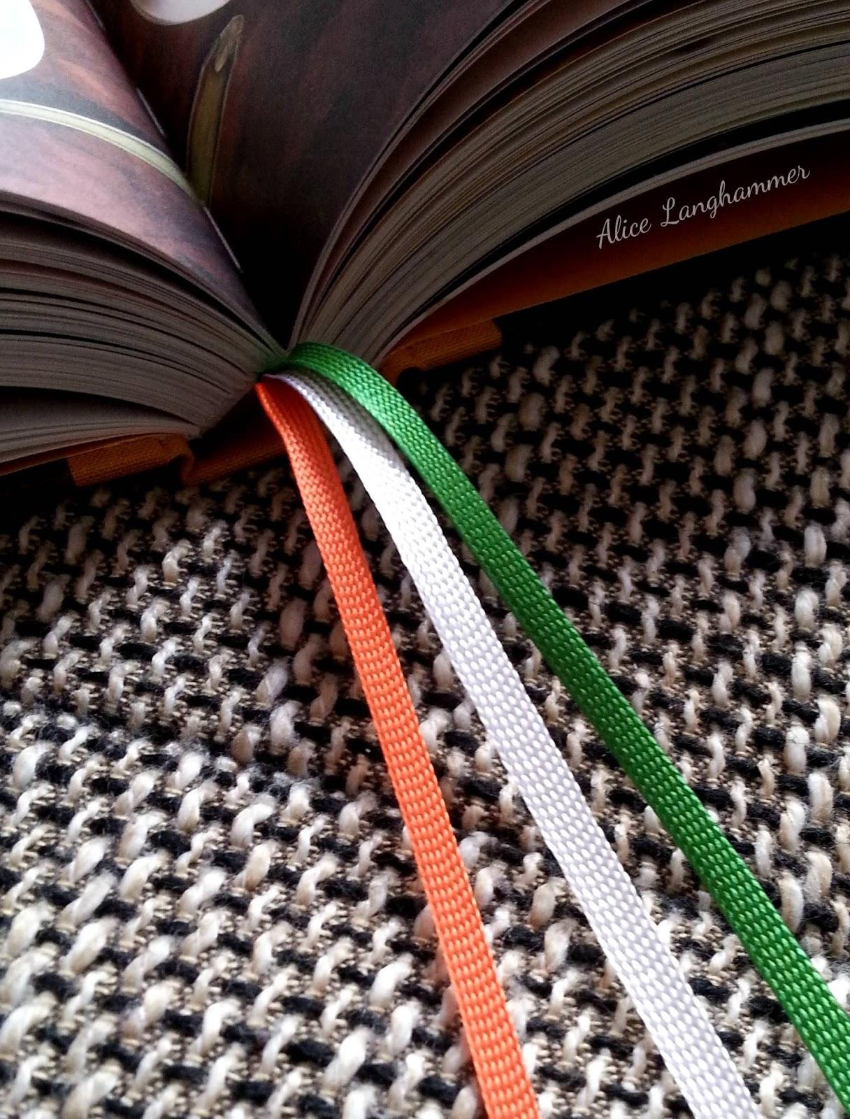 Leseband italienische Landesfarben