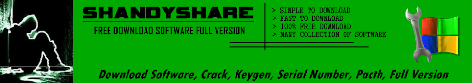 SHANDYSHARE | FREE DOWNLOAD SOFTWARE FULL VERSION