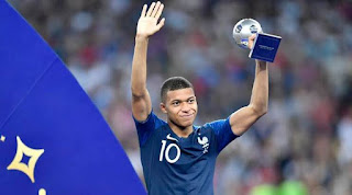 Mbappe donates £384,000 World Cup 2018 earnings to charity