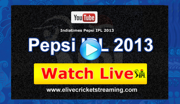 Set Max Live Streaming - Watch Set Max IPL Live Streaming 2013