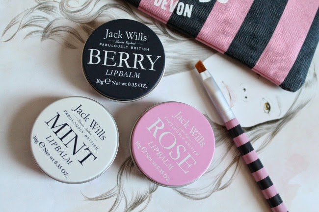 Jack Wills Lip Balm Trio Review