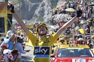 TOUR DE FRANCIA 2015 - Froome da un golpe de autoridad en la primera etapa de montaña