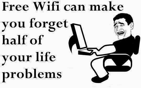 Free wifi for life