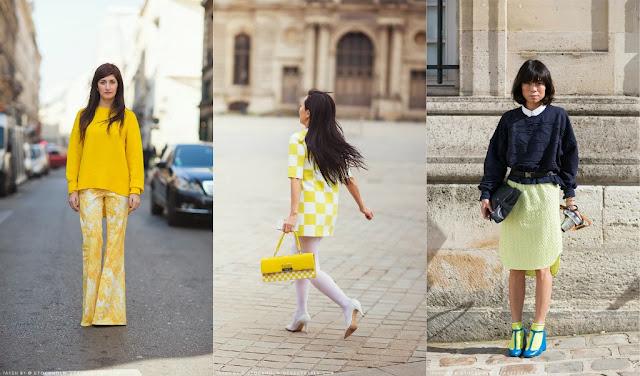 looks inspiración amarillo