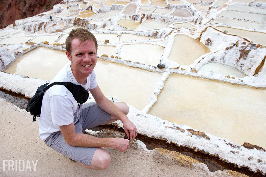 Maras y Moray Salt Ponds Peru