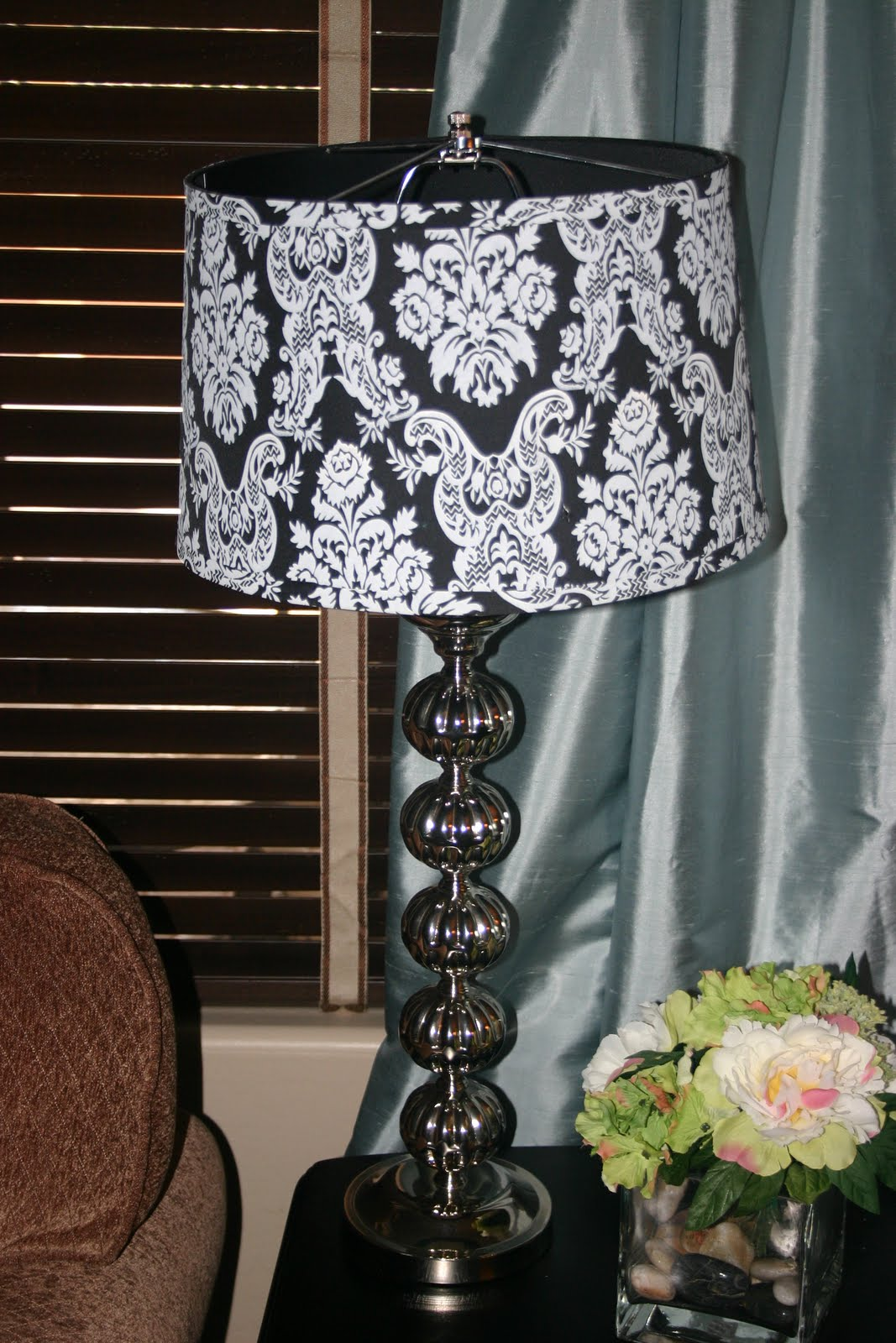 Jenny 39 s creative fix lamp shade redo for Redoing lamp shades