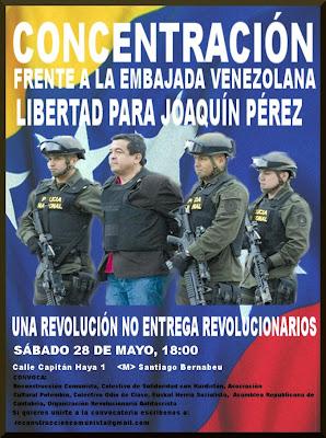 [28M] Concentración ¡LIBERTAD PARA JOAQUÍN PÉREZ BECERRA! Venezuela
