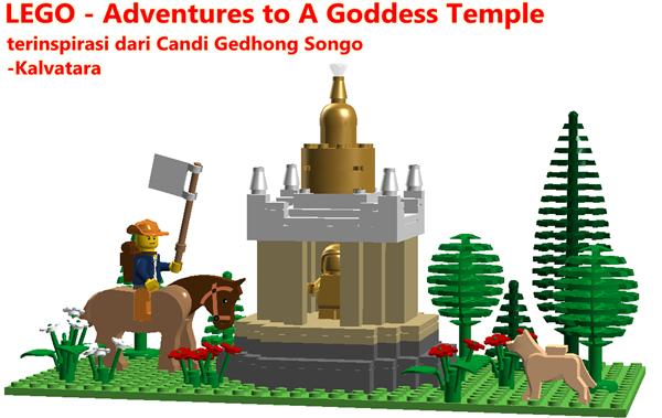 LEGO - Candi Gedhong Sono