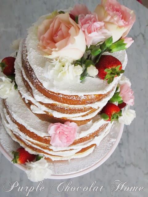 A Spring Tea Cake