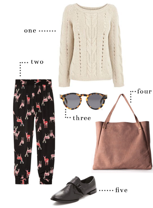 StyleAndPepperBlog.com : : Shop Her Style // Loungewear Loafers