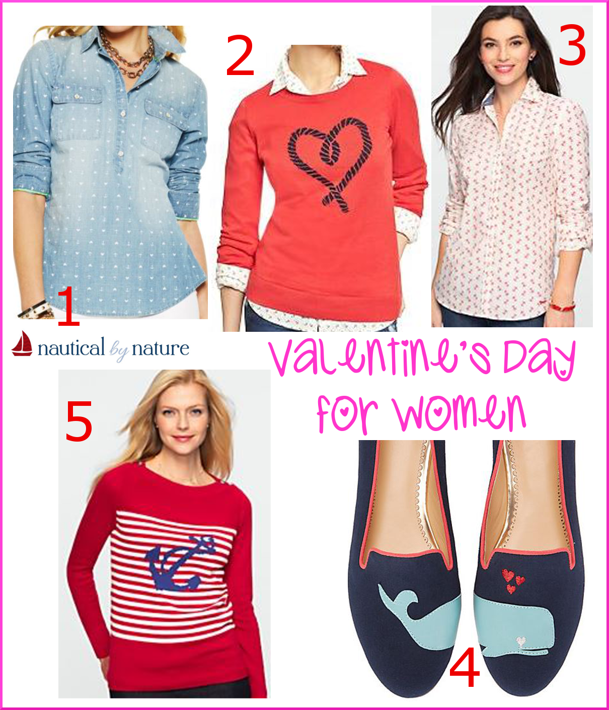 Nautical by Nature | Nautical Valentine's Day outfit ideas for women