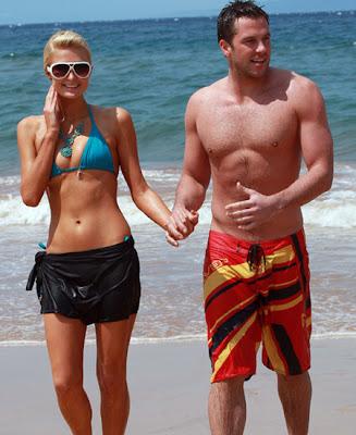 paris hilton with her boyfriend
