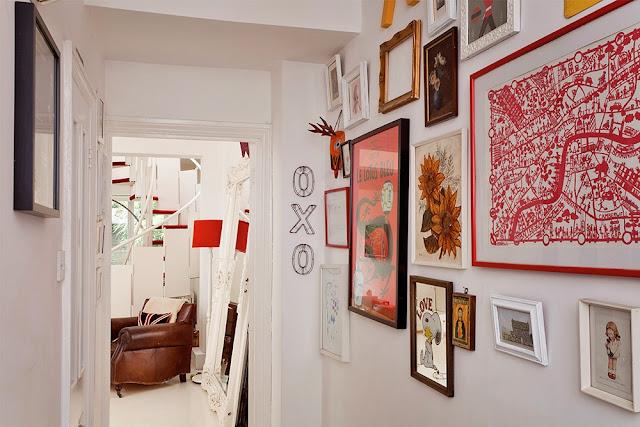 galeria no corredor