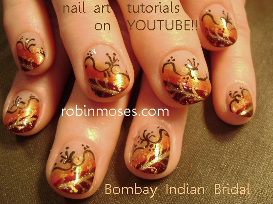 Nail Art Design Indian Wedding Nails Fall Wedding Fall Designs