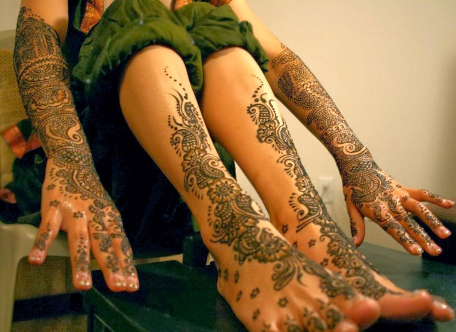 Bridal Mehndi Feet Wallpapers : Bridal mehndi designs new feet and hand