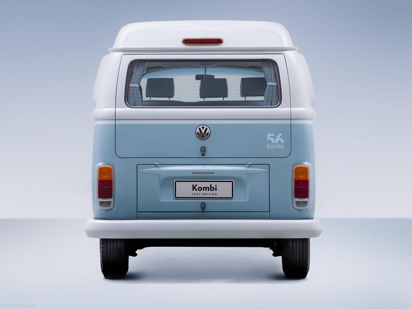 novo Volkswagen Kombi edição especial 2014 traseira