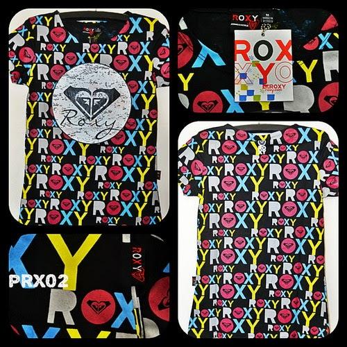 Kaos Surfing Cewek ROXY Kode PRX02