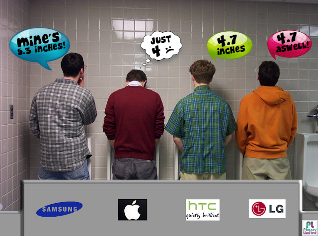 Samsung Will Widen the Smartphone Sales Gap with Apple - More inches
