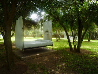 Notre day bed zen lors d'un mariage aux Deux Tours à Marrakech
