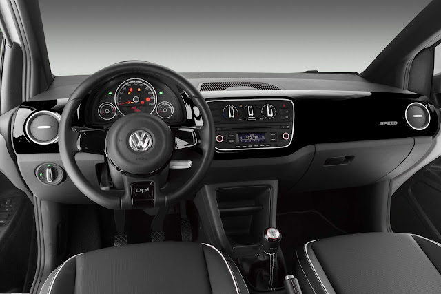 Volkswagen Speed-up!  turbo 2016 - interior