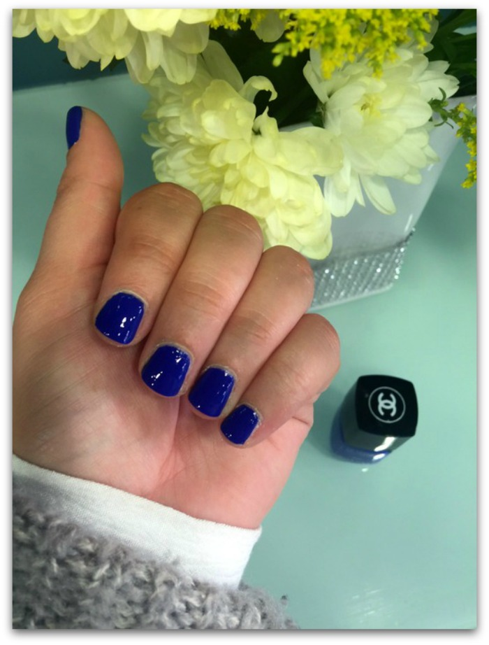 Chanel Le Vernis Nail Colour Vibrato Blue Rhythm