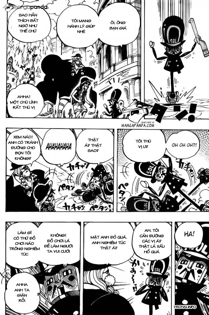 One Piece Chap 703