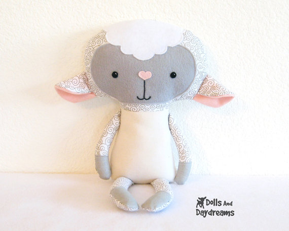 patron couture doudou mouton