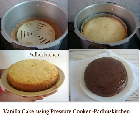 How To Make Sponge Cake In Pressure Cooker At Home