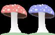 2 shrooms