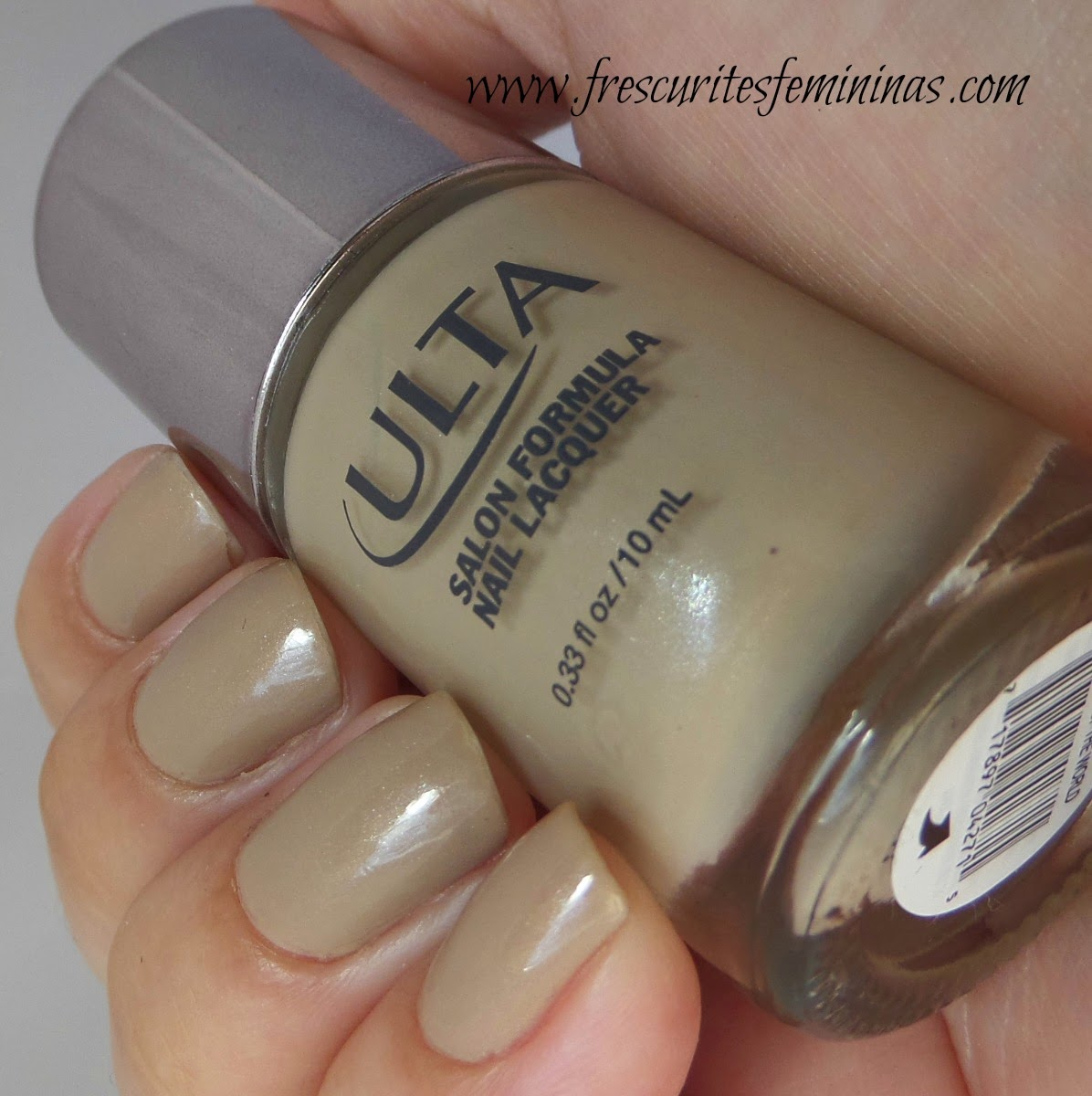 Ulta, Ulta Nail Polish, on taupe of the world, frescurites femininas, esmalte nude